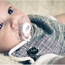 Pacifier Clip | Engraved with Baby's Name | Pacidoodle