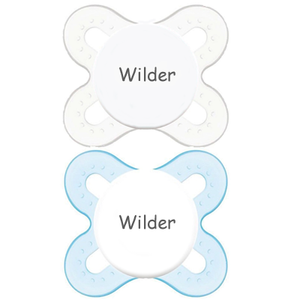MAM Personalized Pacifier (Blue) 0-2