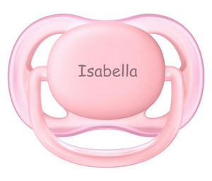 AVENT Personalized Pacifier (Peach) 0-6
