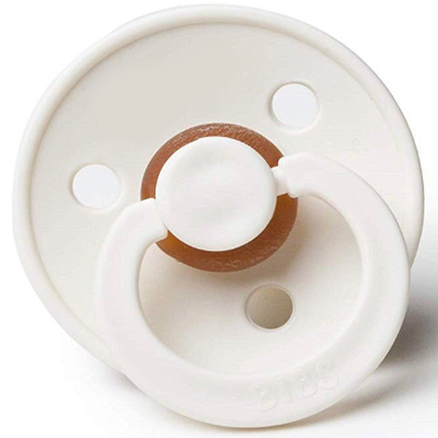 BIBS Personalized Pacifier (Ivory)