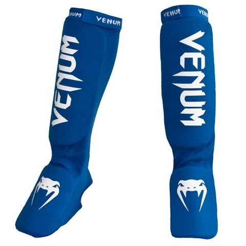 "Venum Shinguards ""Kontact"" - Blue"
