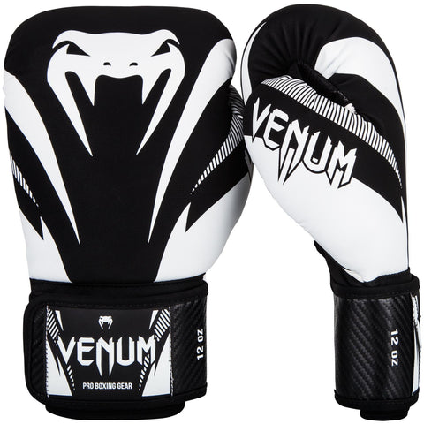 "Venum Boxing Gloves ""Impact"" - Black/White"