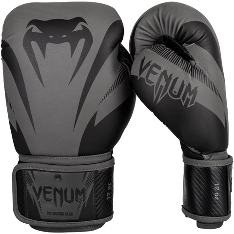 "Venum Boxing Gloves ""Impact"" - Gray/Black"