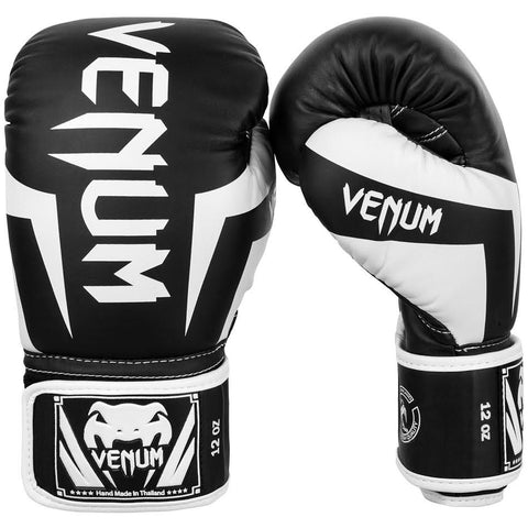 "Venum Boxing Gloves ""Elite"" - Black/White"