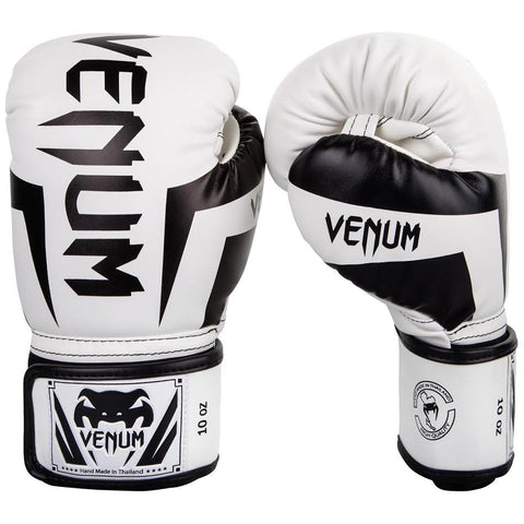 "Venum Boxing Gloves ""Elite"" - White/Black"
