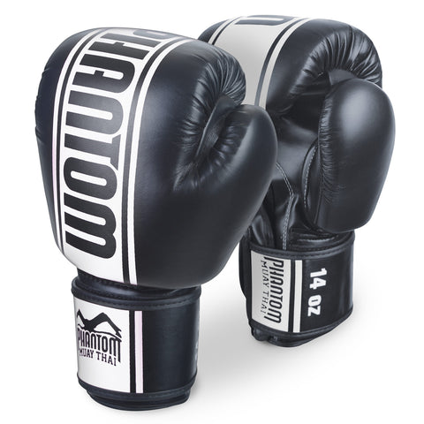 "Phantom Athletics Boxing Gloves ""MT-Pro"" - Black/White"
