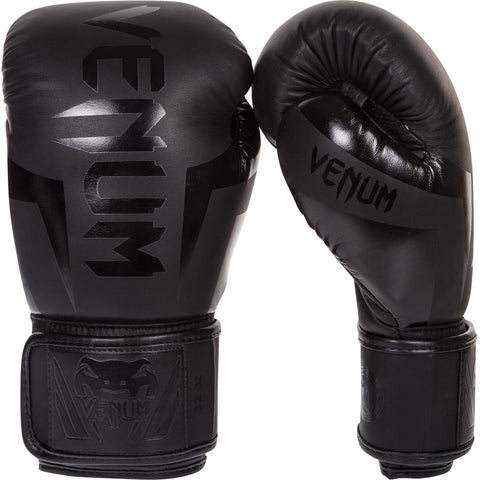 "Venum Boxing Gloves ""Elite"" - Black"