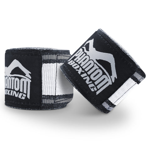 "Phantom Athletics Handwraps ""MT-Pro"" - Black/White"