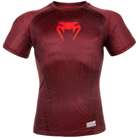 "Venum Rashguard ""Nightcrawler"" - Red - Shortsleeve"