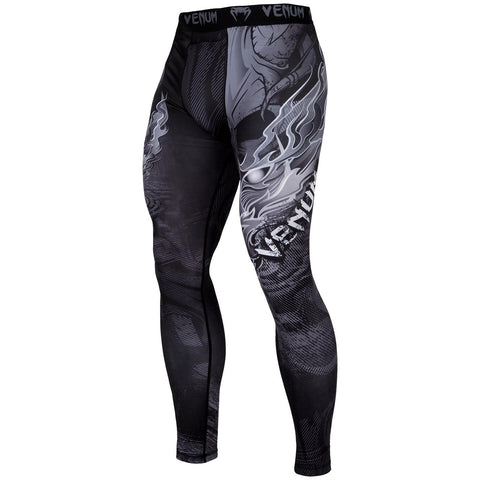 "Venum Compression Leggings ""Minotaurus"" - Black/White"