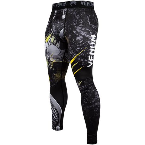 "Venum Compression Leggings ""Viking 2.0"" - Black/Yellow"