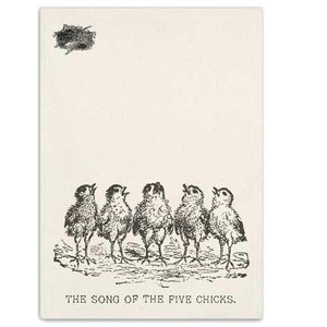 Chicks Tea Towel