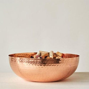 Copper Finish Bowl