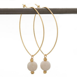 Lenny Gemstone Earrings