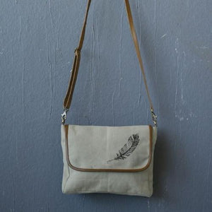 Feather Cross Body Bag