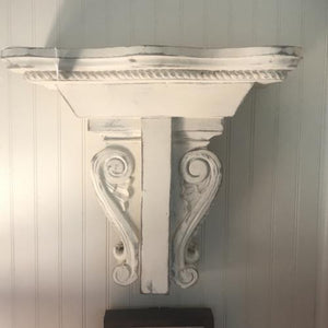 Hand painted Corbel Shelf