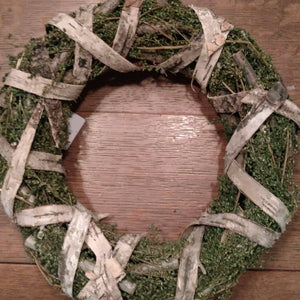 "Birch Twig Wreath ""Sweet Annie"""