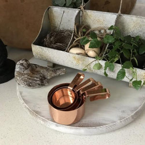 Copper Measuring Cups