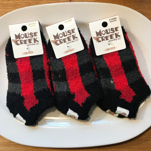 Baby Buffalo Plaid Cozy Socks