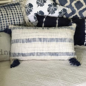 Blue and White Pillow Collection