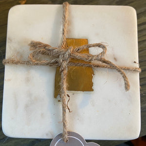 Alabama Marble Coaster Set