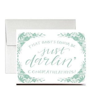 "Greeting Card ""Just darlin'"""