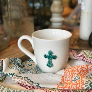 Handmade Cross Mug