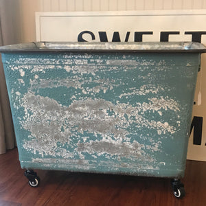 Turquoise Cart