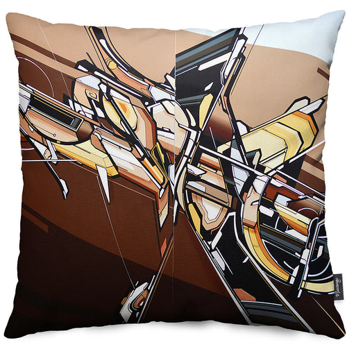 ASYNDIRO VES Throw Pillow