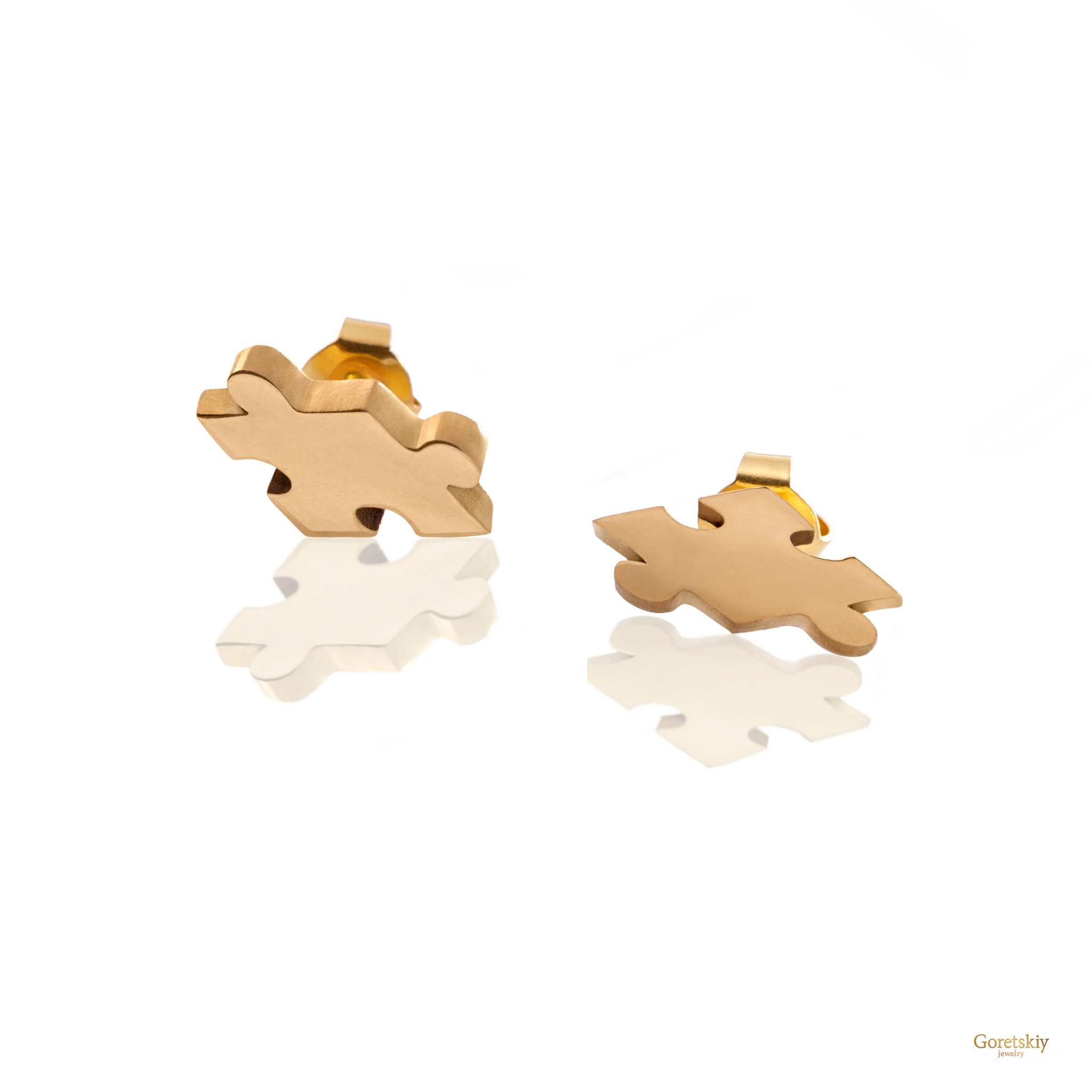 Puzzle 3D Earrings