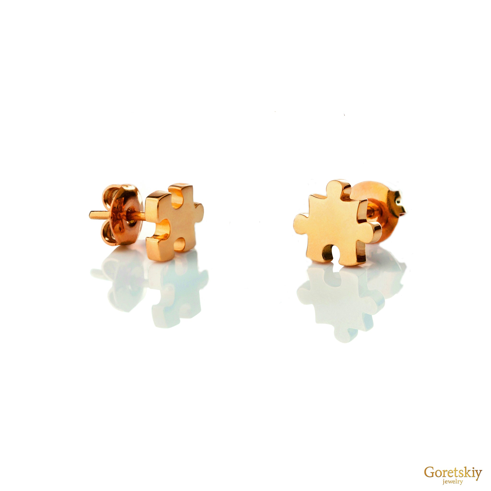Single Puzzle Earrings