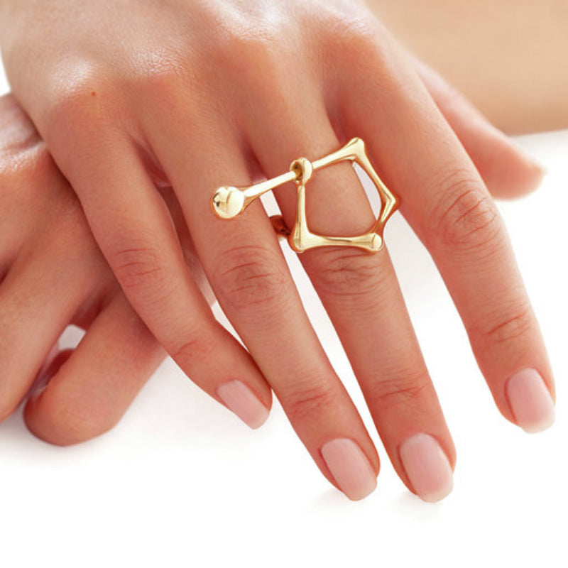 DNA Escape Ring on Model