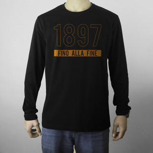 Orange Fino Alla Fine 1897 Sweatshirt
