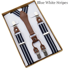 4-Clip Men's Suspenders