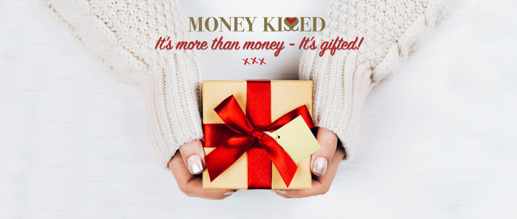 Money Kissed Gifts - Wrapped & Ready to Impress!
