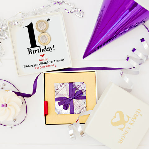 £20 Money Origami gift with personalised money messages for every birthday occasion