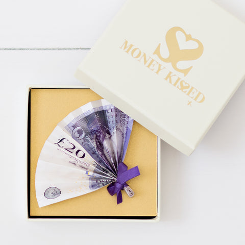 £20 Money gift by Money Kissed gifts for Valentine's Day