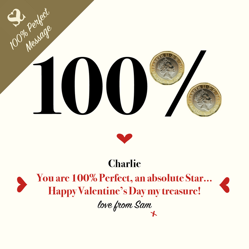 100% perfect Money message for Valentine's Day