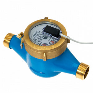 "BMeters 1/2"" BSP (15mm) Multi Jet Cold Water Meter"