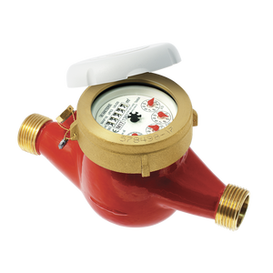 "3/4"" BSP (20mm) Multi Jet Hot Water Meter"