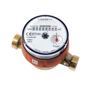 "1/2"" BSP (15mm) Single Jet Hot Water Meter"