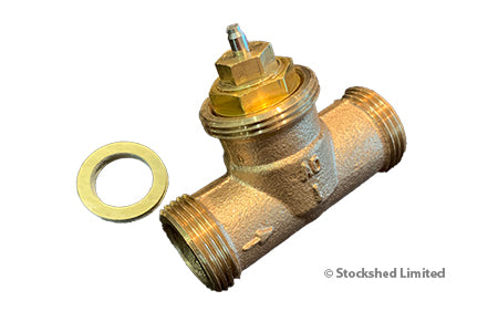 Valve Body + Insert for Thermostatic Head