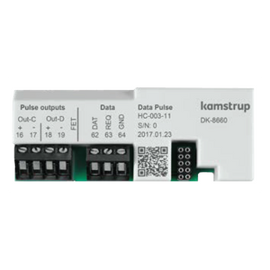 Kamstrup Data + 2 Pulse Outputs Module
