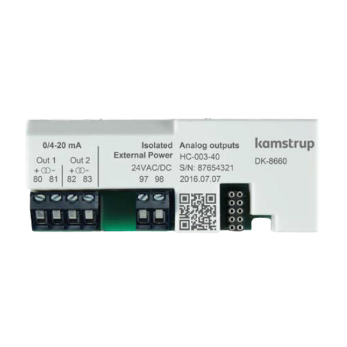 Kamstrup Analogue 2 x 0/4-20mA Output Module