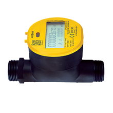 "Load image into Gallery viewer, Axioma Qalcosonic W1 Hot Water Meter. 20mm, 3/4"" BSP Q3=4.0 m3/h. 130mm."