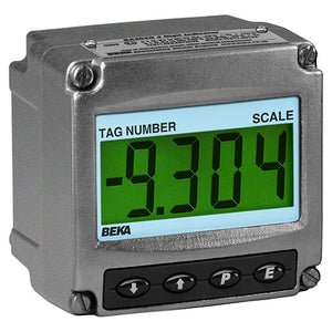 BEKA BA304G-SS Loop Powered Indicator - 4 Digit