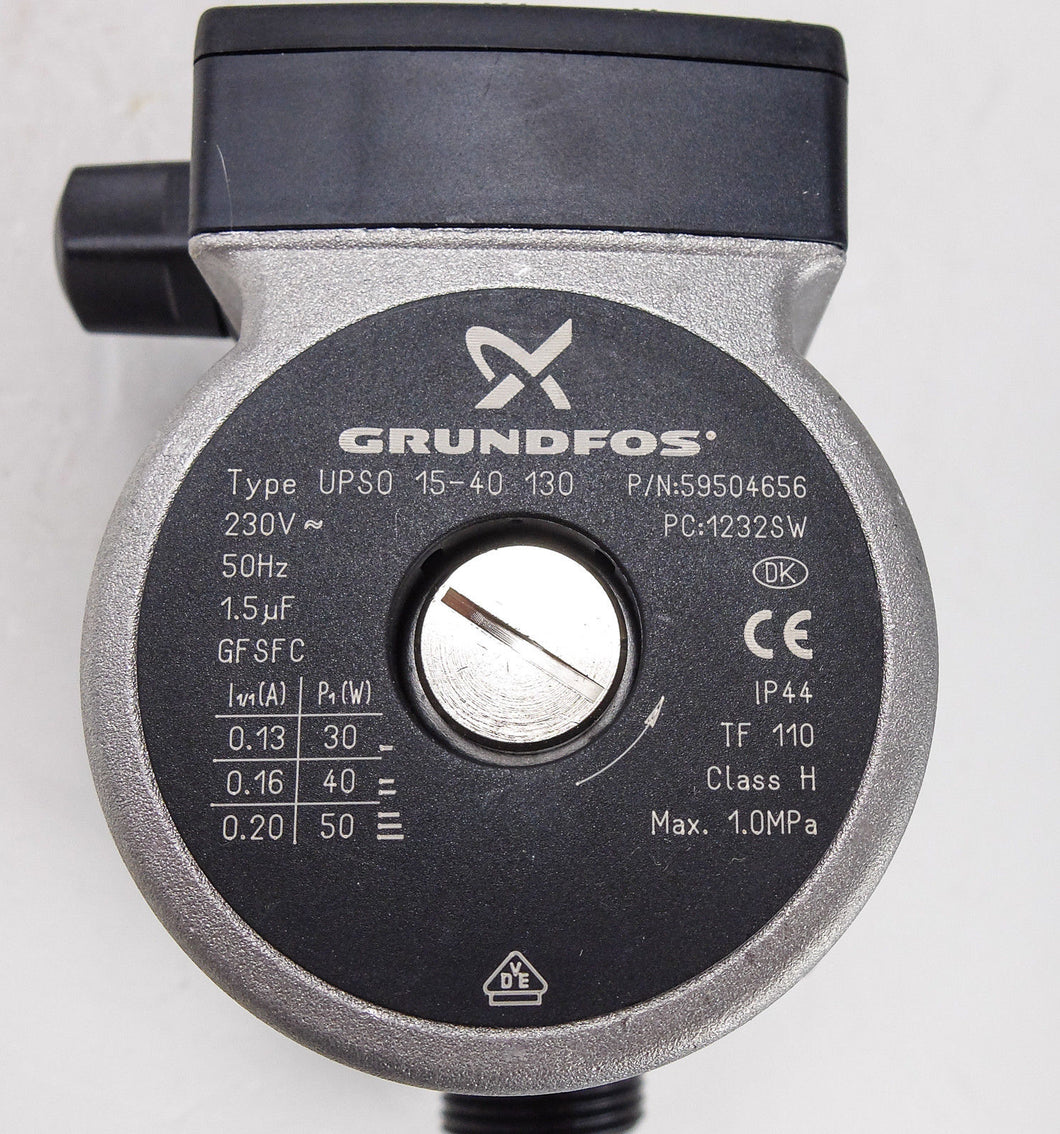 Grundfos UPS15-40 S0 130 Replacement Pump