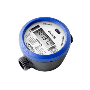 "Kamstrup Multical 21 Cold Water Meter. 3/4"" BSP Q3 = 4.0 m3/h. 190mm"