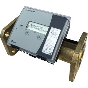 DN65 Danfoss SonoMeter 31 Heat & Cooling Meter. 65mm, qp 25.0 m3/hr.