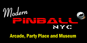 Modern Pinball NYC Arcade, Party Place and Museum